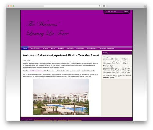 Flexibility3 premium WordPress theme - warrensluxurylatorre.co.uk