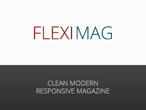 FlexiMag - Modern, Clean, & Responsive WP Magazine WordPress news theme