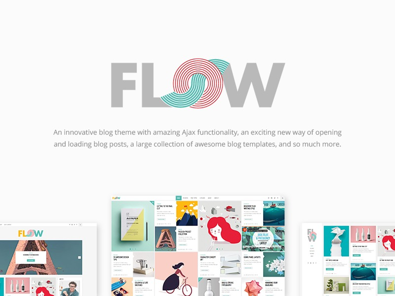 Flow theme WordPress