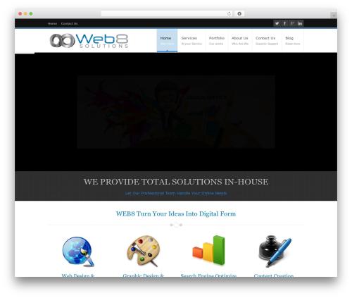 For All best WordPress template - web8.com.au
