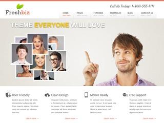 Freshbiz business WordPress theme
