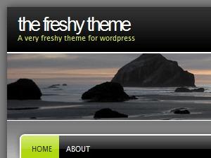 Freshy WordPress theme