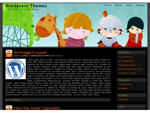 girl theme WordPress