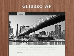 Glisseo - Responsive Multipurpose WordPress Theme theme WordPress portfolio