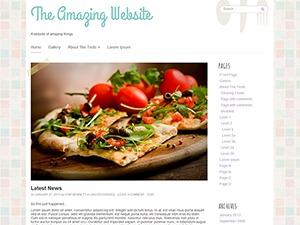 Go Daddy Yummi best WordPress theme