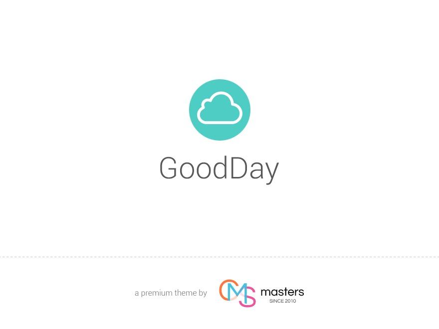 GoodDay personal blog WordPress theme