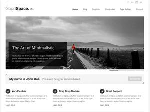 Goodspace WordPress template