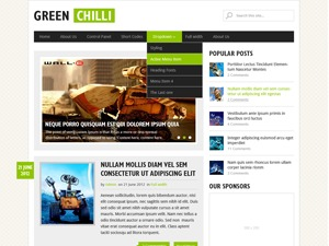 GreenChilli WordPress shop theme