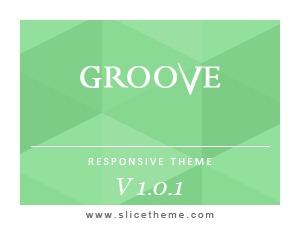 GROOVE WordPress magazine theme