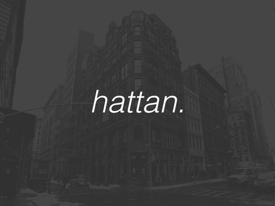 Hattan theme WordPress