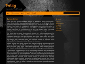 Haunted House template WordPress free