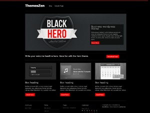 Hero business WordPress theme