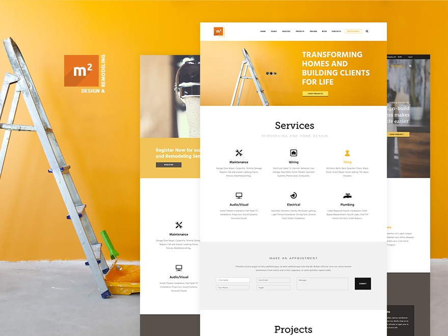 House Repair template WordPress