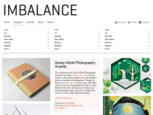 Imbalance WordPress theme