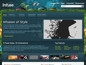 Infuse Wordpress Theme best WordPress theme