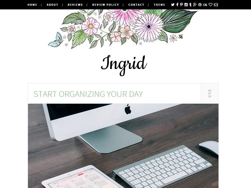 inGrid best free WordPress theme