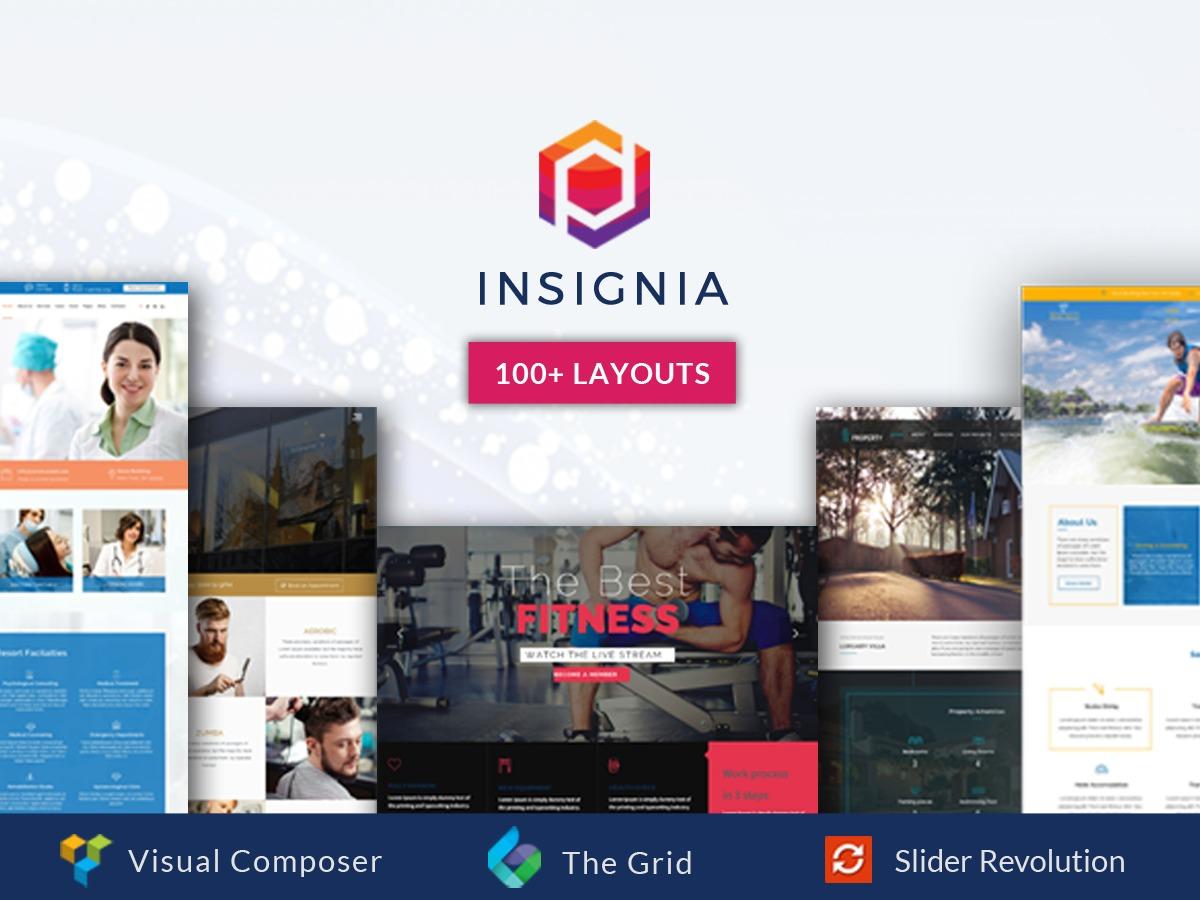 Insignia WordPress news theme