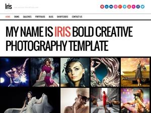 Iris best WordPress template