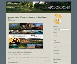 Irrigation WordPress theme