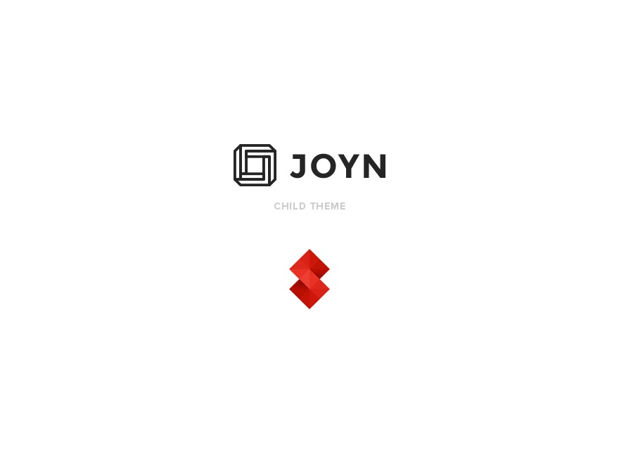 Joyn Child Theme WP template
