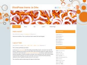 Js O4w WordPress website template
