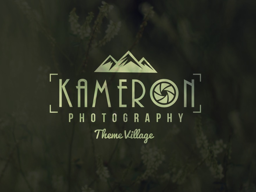 Kameron WordPress gallery theme