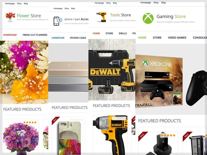 Kingdom - Woocommerce Amazon Affiliates Theme WordPress ecommerce template