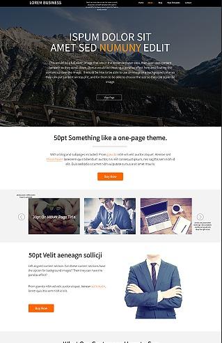 Lara Pro best WordPress template