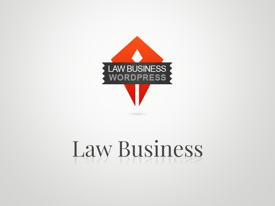 Law business business WordPress theme