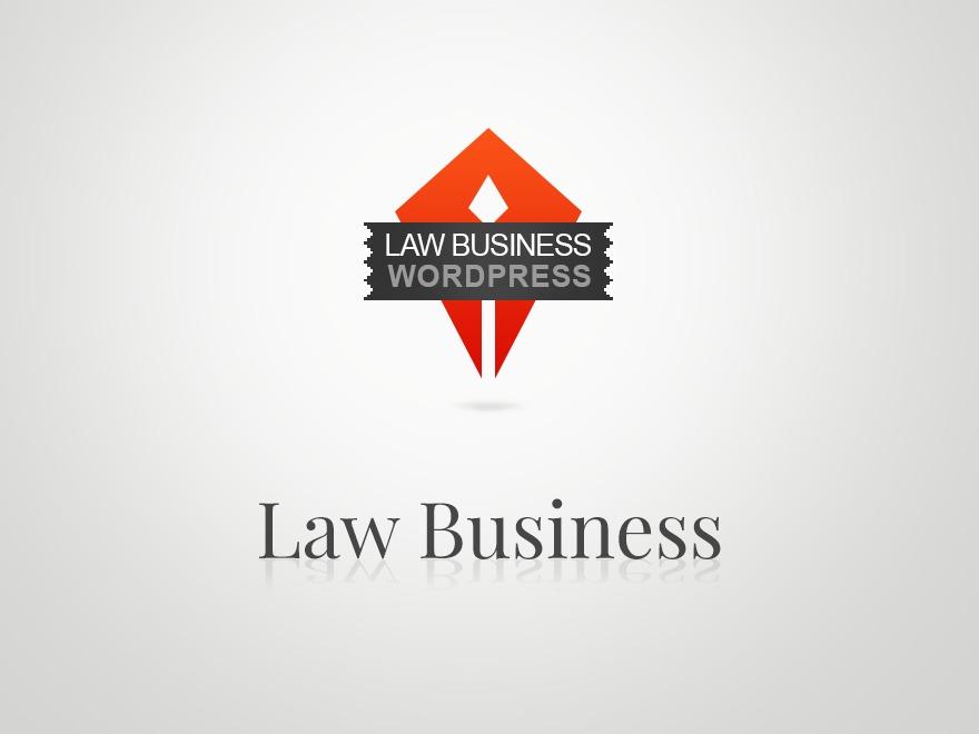 Law business business WordPress theme