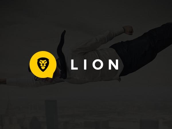 Lion template WordPress