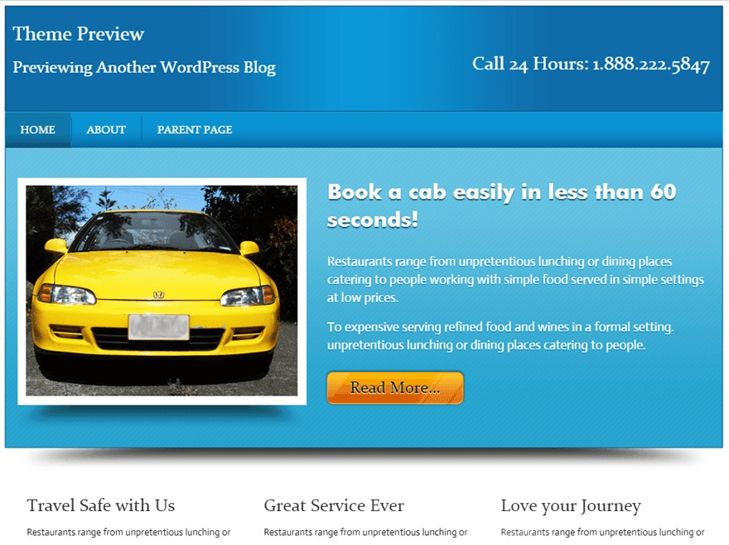 Local Business WordPress free download