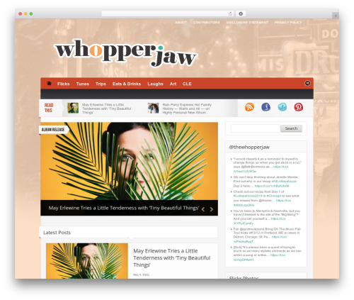 Made theme WordPress - whopperjaw.net
