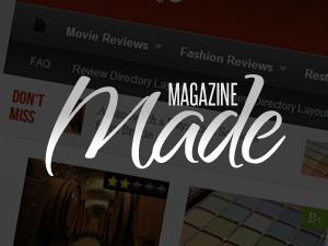 Made WordPress magazine theme