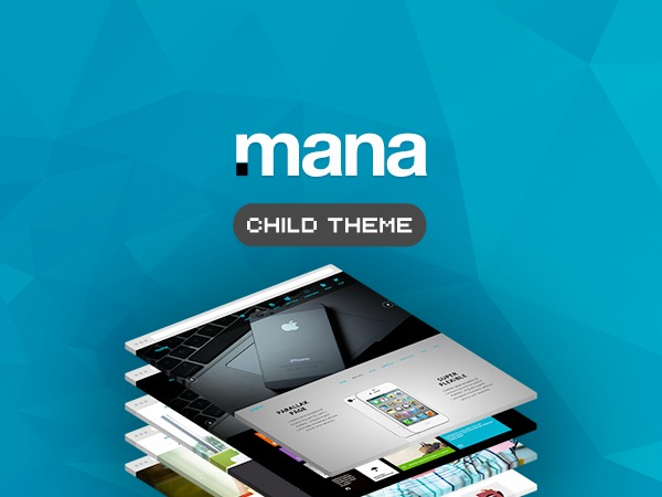 Mana Child company WordPress theme