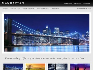 Manhattan Child Theme theme WordPress