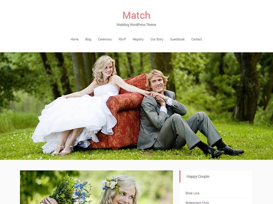 Match WordPress theme image