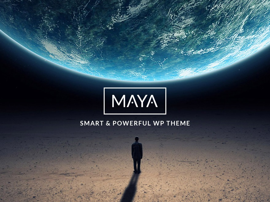 Maya theme WordPress