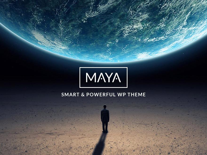 Maya theme WordPress