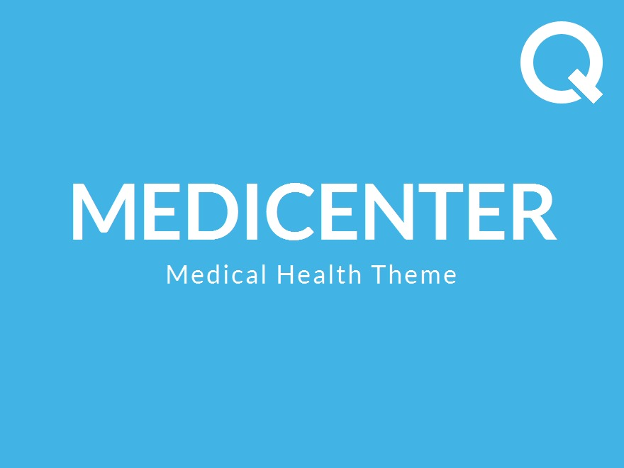MediCenter company WordPress theme
