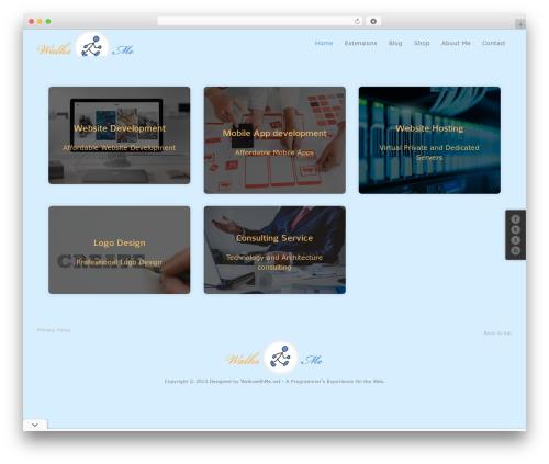 Free WordPress WWM Social Share On Image Hover plugin - walkswithme.net