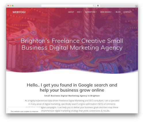 Free WordPress Mesmerize Companion plugin - webyogi.co.uk