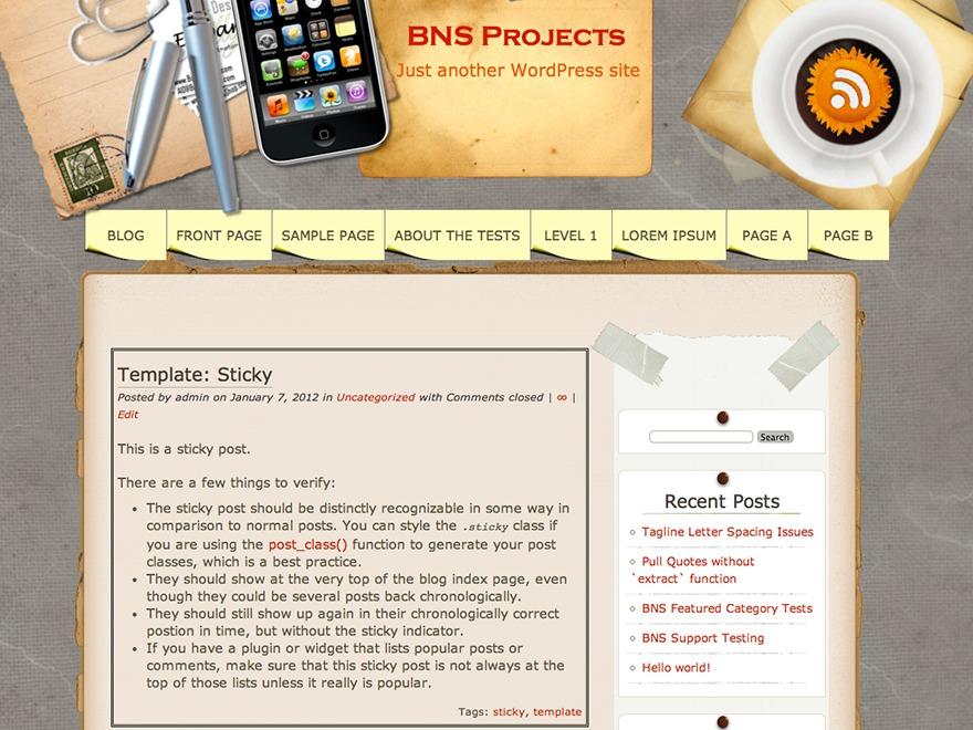 Multi template WordPress free