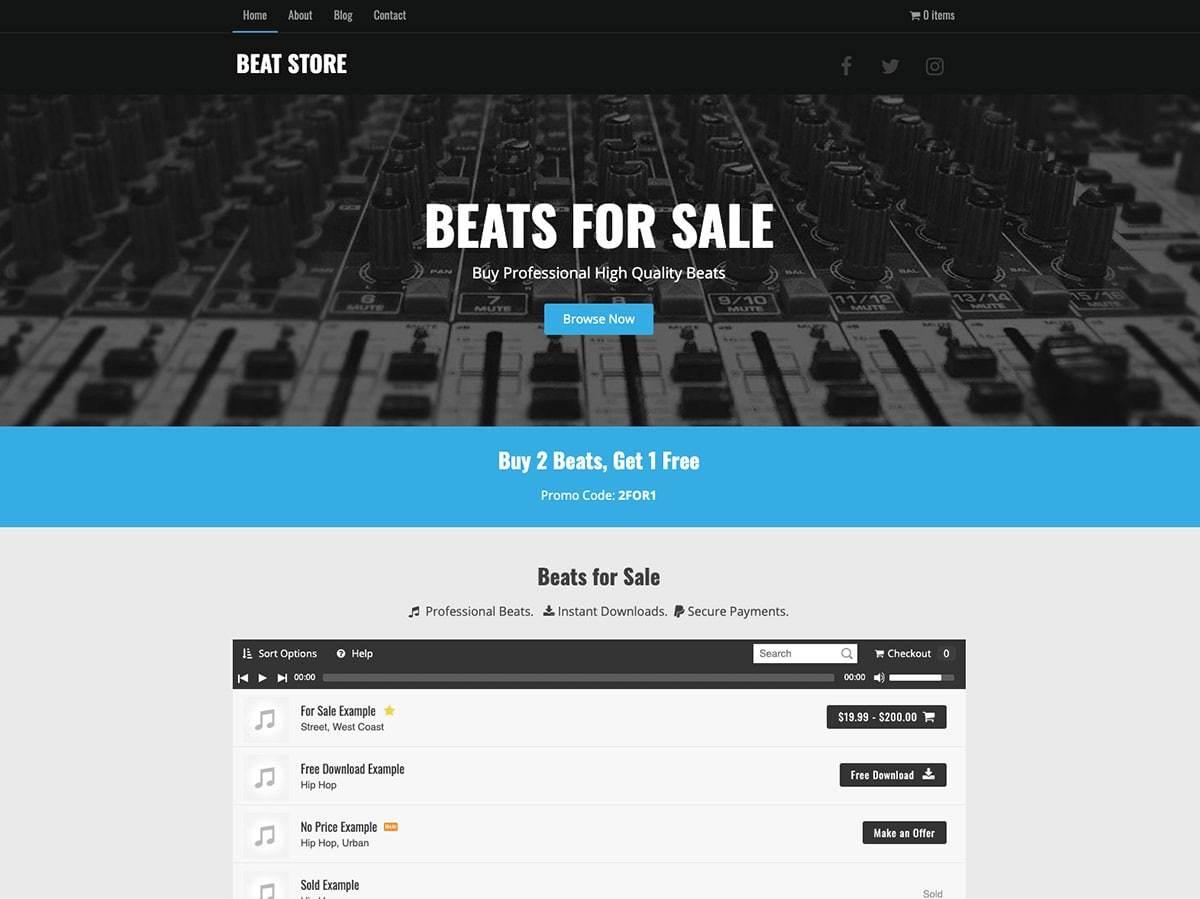 Music Maker best WordPress video theme