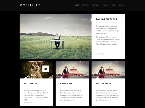 MY FOLIO best WordPress gallery
