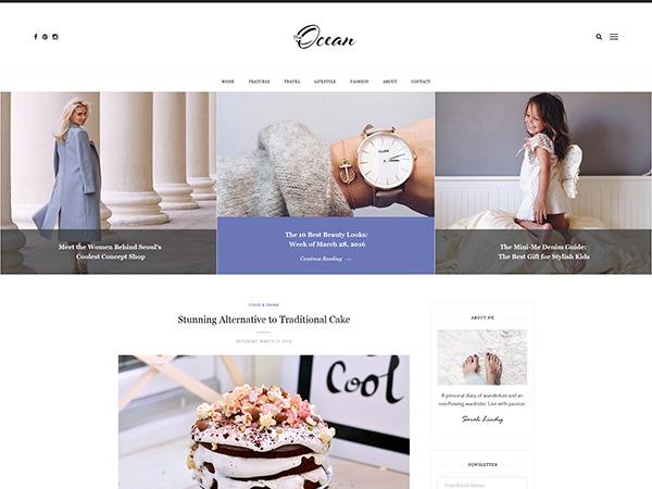 Ocean WordPress theme