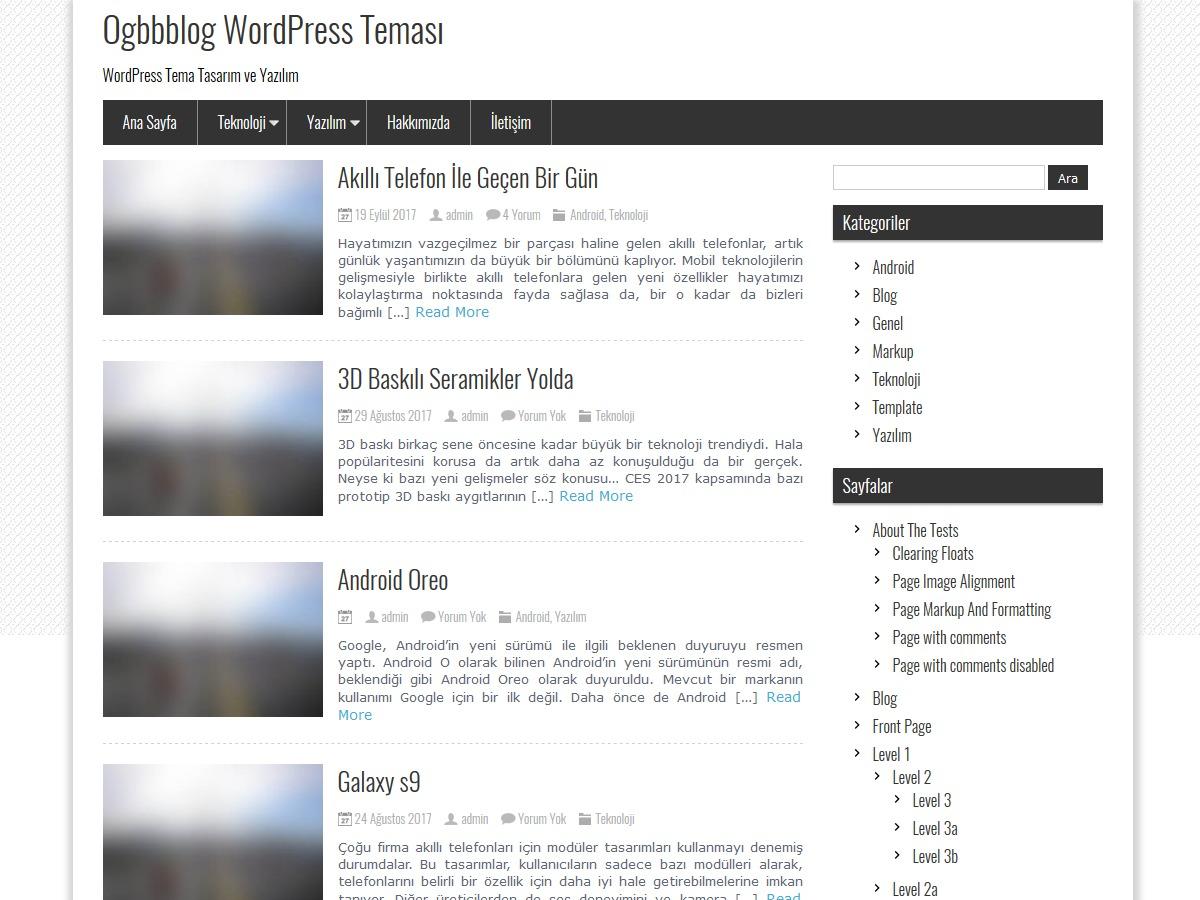 ogbbblog WordPress free download