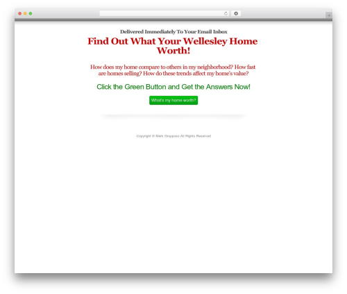 OptimizePress theme WordPress - wellesleymasshomes.com