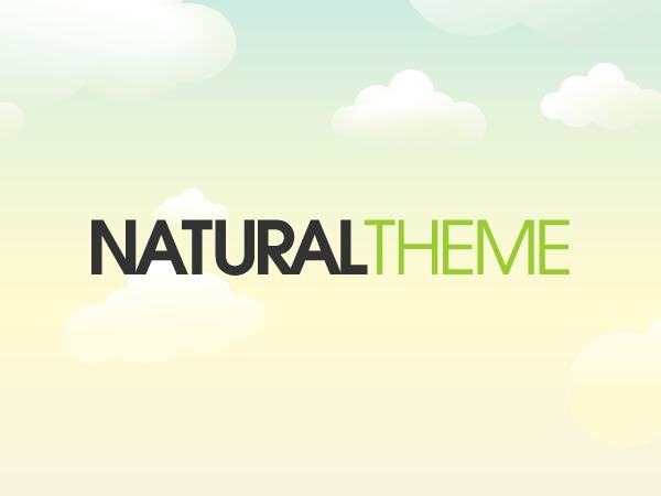 Organic Natural Theme premium WordPress theme