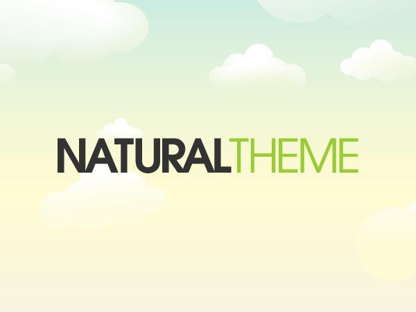 Organic Natural Theme premium WordPress theme